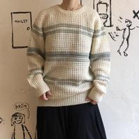 lady's gray line sweater