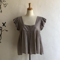 lady's frill sleeve tops