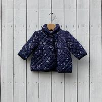 kids flower quilting jacket(6M/60cm)