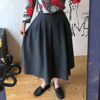 lady's button down skirt