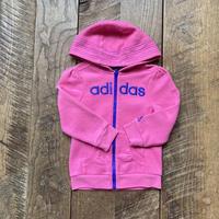 kids adidas zip up parka(3T/100cm)