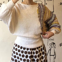 lady's dolman sleeve knit tops
