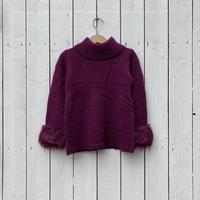 kids fur knit(6T/120cm)
