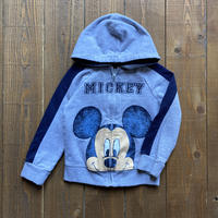 kids Mickey Mouse zip up parka(3T/95cm-100cm)