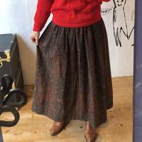 "lady's ""Ralph Lauren"" paisley pattern skirt"