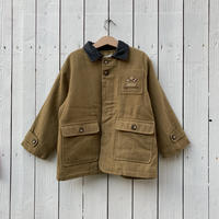 kids leather collar jacket(8T/140cm)
