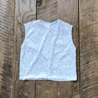 kids N/S girls velvet tops(6T/120cm)