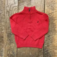 kids NAUTICA half zip knit(3T/100cm-105cm)