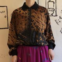 lady's animal pattern tops