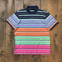 90s POLO GOLF S/S border polo shirts
