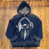 Men's 80s RUMINAHUI hooded knit jacket(Men's L)