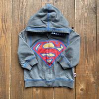 kids Superman zip up parka(12-18M/80cm-85cm)