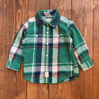 kids carter's flannel shirt(18M/85cm)