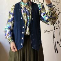 lady's denim vest