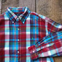 Men's RALPH LAUREN flannel check shirts(Men's M)