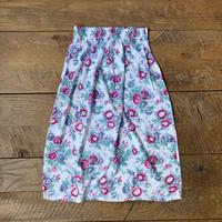 lady's flower skirt