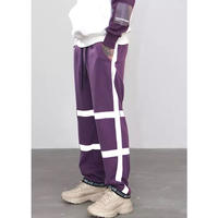 WOSS.official/PURPLE reflector pants