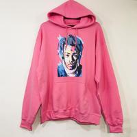 "R MAX Clothing/Art ""XXX tentacion""  Hoodie PINK"