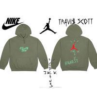 """Nike × Travis Scott /Cactus Jack JORDAN Hoodie """"OLIVE"""""""