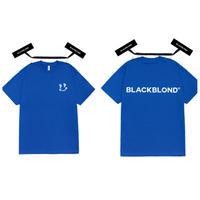 BLACK BLOND/Smile classic Tee BLUE