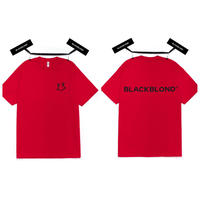 BLACK BLOND/Smile classic Tee RED