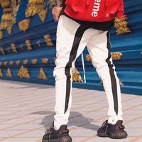 GUAPI/FUSION Track Pants WHITE
