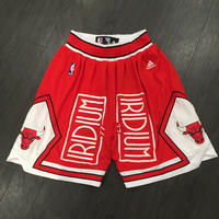 Iridium Clothing/Bulls custom shorts レッド
