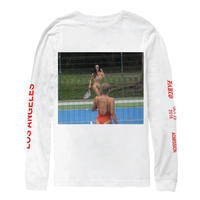 Saint Pablo Tour/official kim tennis long sleeve  ホワイト