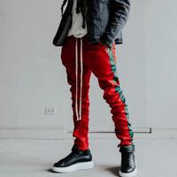 EPTM/トラックパンツ Red×Green