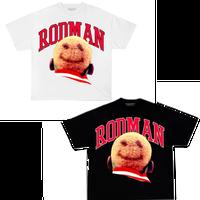 RODMAN official brand/Smile Head Tshirts