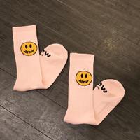 Drew House/Mascot Socks PALE PINK