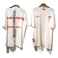 WOSS.official/Damege Tee White