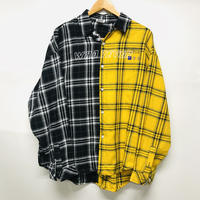 WOSS.official/ patchwork shirt