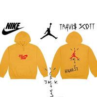 "Nike × Travis Scott /Cactus Jack JORDAN Hoodie ""YELLOW"""