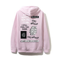 Anti Social Social Club/SS新作 Logo Hoodie PINK
