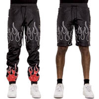 EPTM/2WAY Black Flame Pants