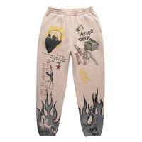 FNTY/Flying FLAME PANTS CREAM