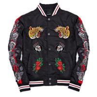 Reason Clothing Newyork/Tiger Souvenir Jacket