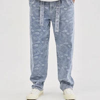 WOSS.official/ BANDANA denim pants