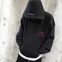 BLACK BLOND/BB smile  Hoodie  BLACK