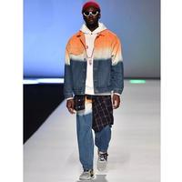 WOSS.official/Tie dye denim jacket
