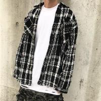 URKOOL/Tweed shirts Jacket