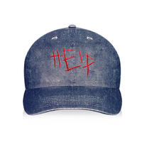 448C/HELP CAP DENIM