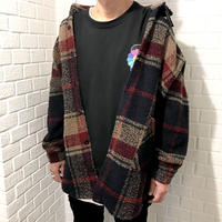 Mismatch NYC/Oversized Flannel shirts  jacket