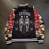 Reason Clothing Newyork/Camo Rose スカジャン