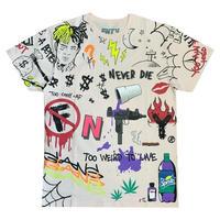 FNTY/ Never Die Tshirts Pale Pink