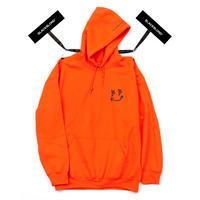 BLACK BLOND/BB smile  Hoodie (Orange)