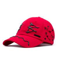 BLACK BLOND/Smile Devil CAP RED