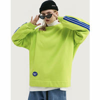 WOSS.official/ Crewneck  Neon Yellow