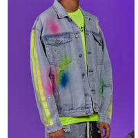 BOOHOO /Spray Paint denim jacket